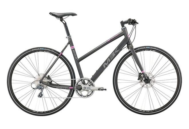 MBK Concept Lady Shimano 8sp Claris. Disc. Mat Grey/Purple