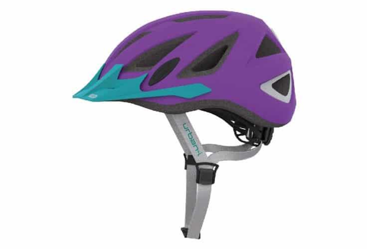 ABUS Urban-I 2.0 Neon cykelhjelm, neon lilla