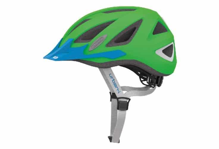 ABUS Urban-I 2.0 Neon cykelhjelm, neon grøn