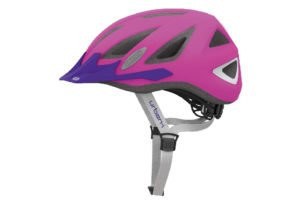 ABUS Urban-I 2.0 Neon cykelhjelm, neon pink