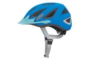 ABUS Urban-I 2.0 Neon cykelhjelm, neon blå