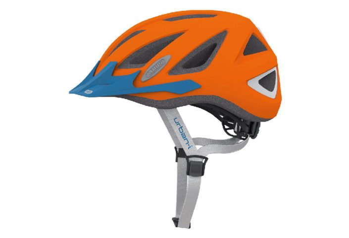 ABUS Urban-I 2.0 Neon cykelhjelm, neon orange