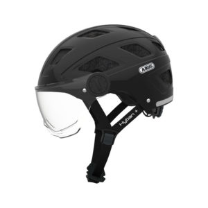 ABUS Hyban + cykelhjelm med klart visir