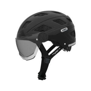 ABUS Hyban + cykelhjelm med røgfarvet visir