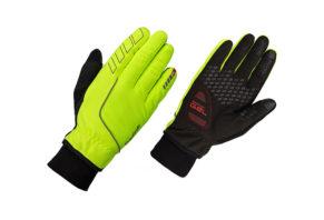 GripGrab Windster Hi-Vis handske i neon 2017 model