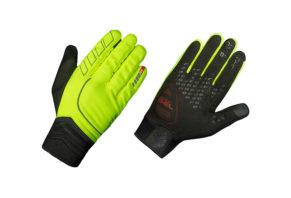 GripGrab Hurricane Hi-Vis handske i neon 2017 model
