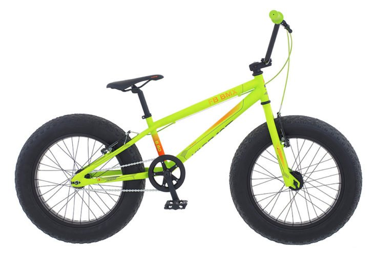 Kildemoes Intruder Fat Bike BMX 1 gear i grøn 2017 model