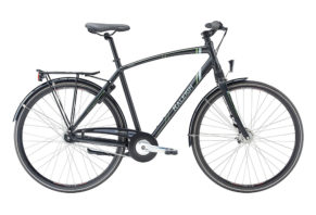 Raleigh Sussex 7 gear i sandblæst sort 2017 model