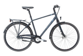 Raleigh Dorset 7 gear i mat mørk grå 2017 model