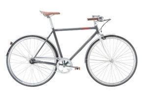 Raleigh Oxford 7 gear i mat sølvgrå 2017 model
