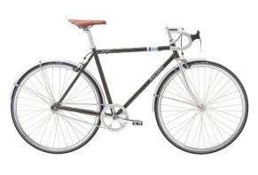 Raleigh Nottingham Road 1 gear i mørk grå 2017 model