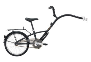 Raleigh efterløber i mat sort 2017 model