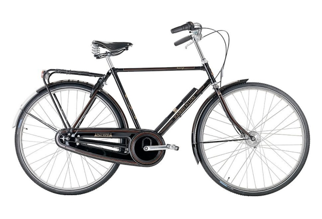 Raleigh Tourist de Luxe i sort 2020