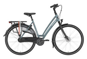 Gazelle Chamonix C7 7 gear i blå 2017 model