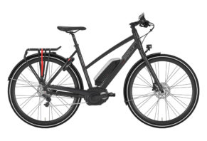 Gazelle CityZen C8 HMB 8 gear i mat sort 2017 model