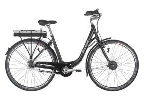 Raleigh Superbe dame elcykel 7 gear i sort - ældre sagen