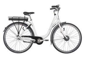 Raleigh Superbe dame elcykel 7 gear i hvid - ældre sagen