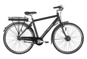 Raleigh Superbe herre elcykel 7 gear i sort - Ældre Sagen