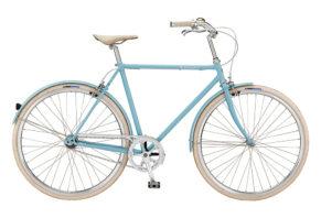 Bike by Gubi klassisk herrecykel I blue heaven
