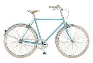 Bike by Gubi klassisk herrecykel I blue heaven