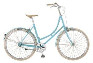 Bike by Gubi klassisk damecykel I blue heaven