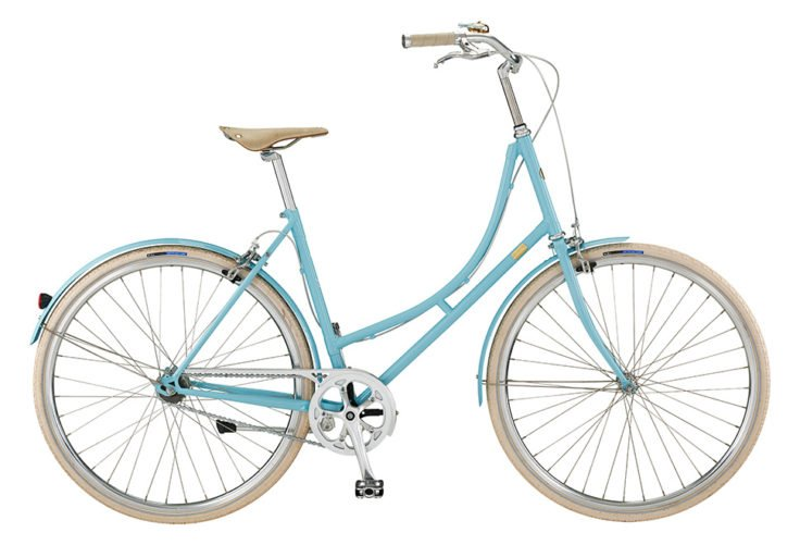 Bike by Gubi klassisk damecykel I blue heaven