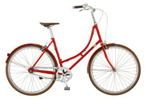 Bike by Gubi klassisk damecykel I Red Nelson