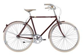 Bike by Gubi klassisk herrecykel I French Bordeaux