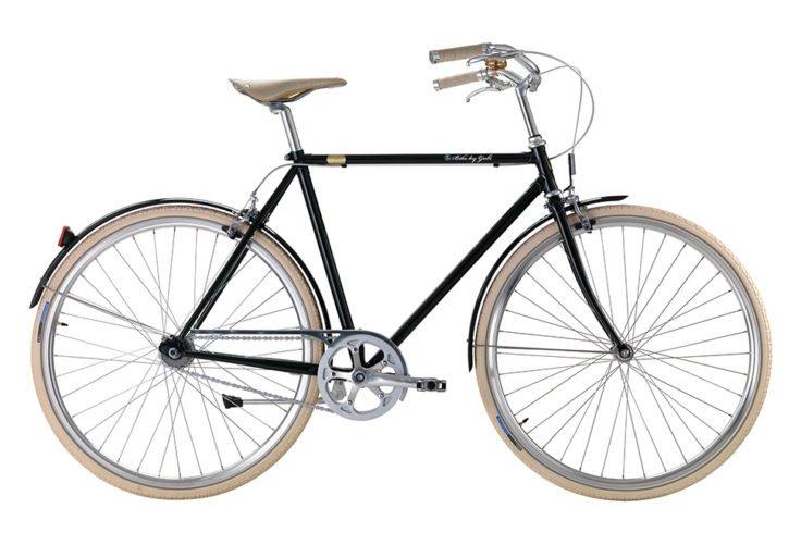 Bike by Gubi klassisk herrecykel I British Racing Greeen