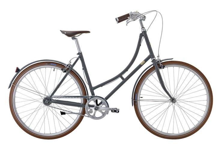 Bike by Gubi klassisk damecykel I Gubi Grey
