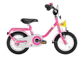 """PUKY Z 2 pigecykel i lyserød med 12"""" hjul"""