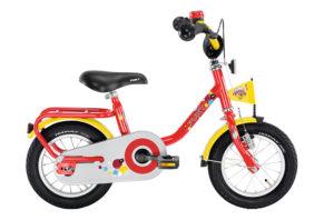 """PUKY Z 2 pigecykel i rød med 12"""" hjul"""