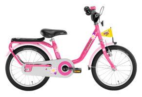 """PUKY Z 6 pigecykel i lyserød med 16"""" hjul"""