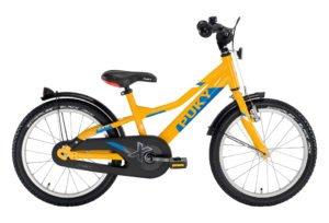 """PUKY ZLX 18 Alu drengecykel i orange med 18"""" hjul"""