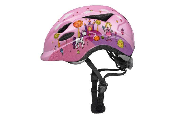 ABUS Anuky cykelhjelm, princess