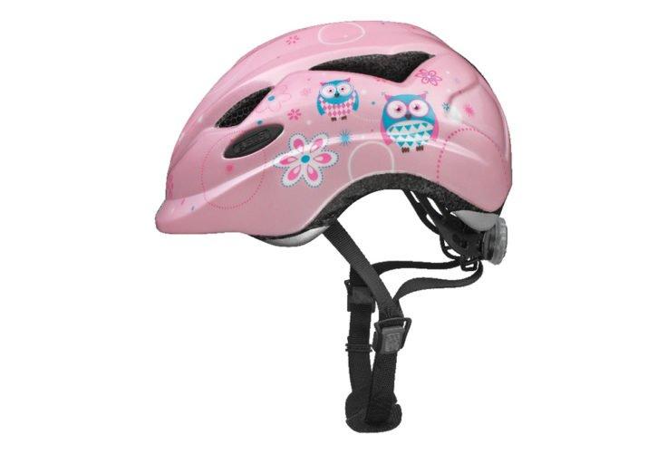 ABUS Anuky cykelhjelm, rose owl