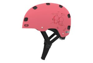 ABUS Scraper Kid 2.0 cykelhjelm, rose love
