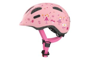 ABUS Smiley 2.0 cykelhjelm, rose princess