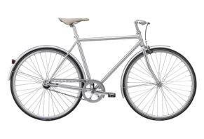 Winther Silver Sport retrocykel, sølv