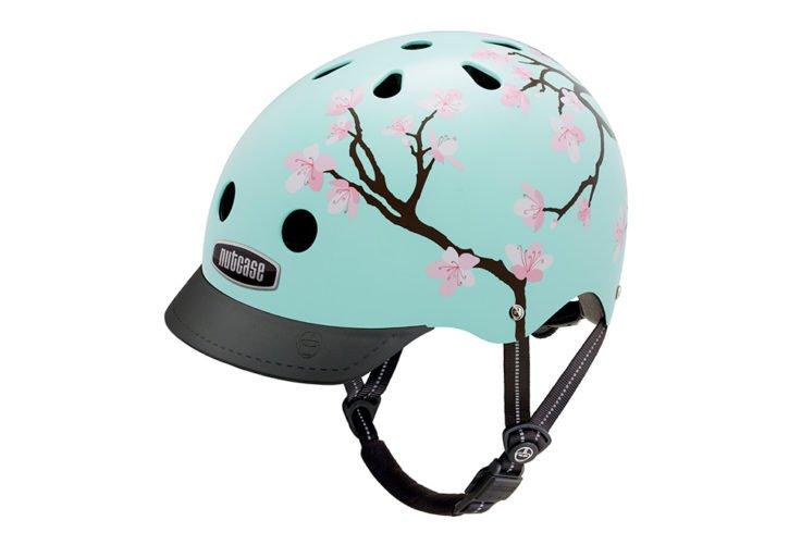 Nutcase Gen3 Street cherry blossom cykelhjelm