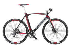 Avenue Airbase Herre Sora 9sp Hydr. disc 52cm Rubber black m. red/white