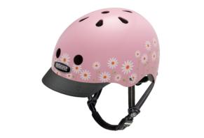 Nutcase Gen3 Street daisy pink cykelhjelm
