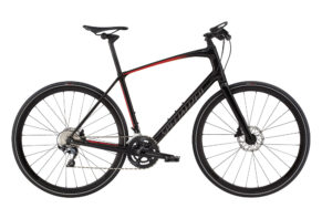 Specialized Sirrus Pro Carbon - Herre - 22 gear - 2018 - Sort