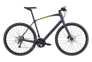 Specialized Sirrus Elite Carbon 20 gear - 2019 - Herrecykel - Satin Cast Battleship/Hyper/Black Reflective