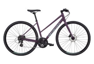 Specialized Sirrus Disc Woman - Dame - 24 gear - 2018 - Lilla