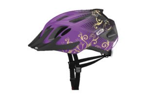 ABUS MountX cykelhjelm i lilla
