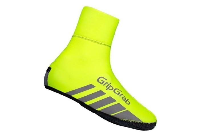 GripGrab RaceThermo Hi-Vis skoovertræk - Neon Gul