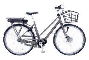 Kildemoes Graceful EL 7 gear med centermotor - 2018 - Dame - Grå