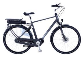 Kildemoes City EL 7 gear med centermotor - 2018 - Herre - Grå