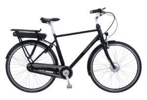 Kildemoes City EL 7 gear med forhjulsmotor- 2018 - Herre - Sort